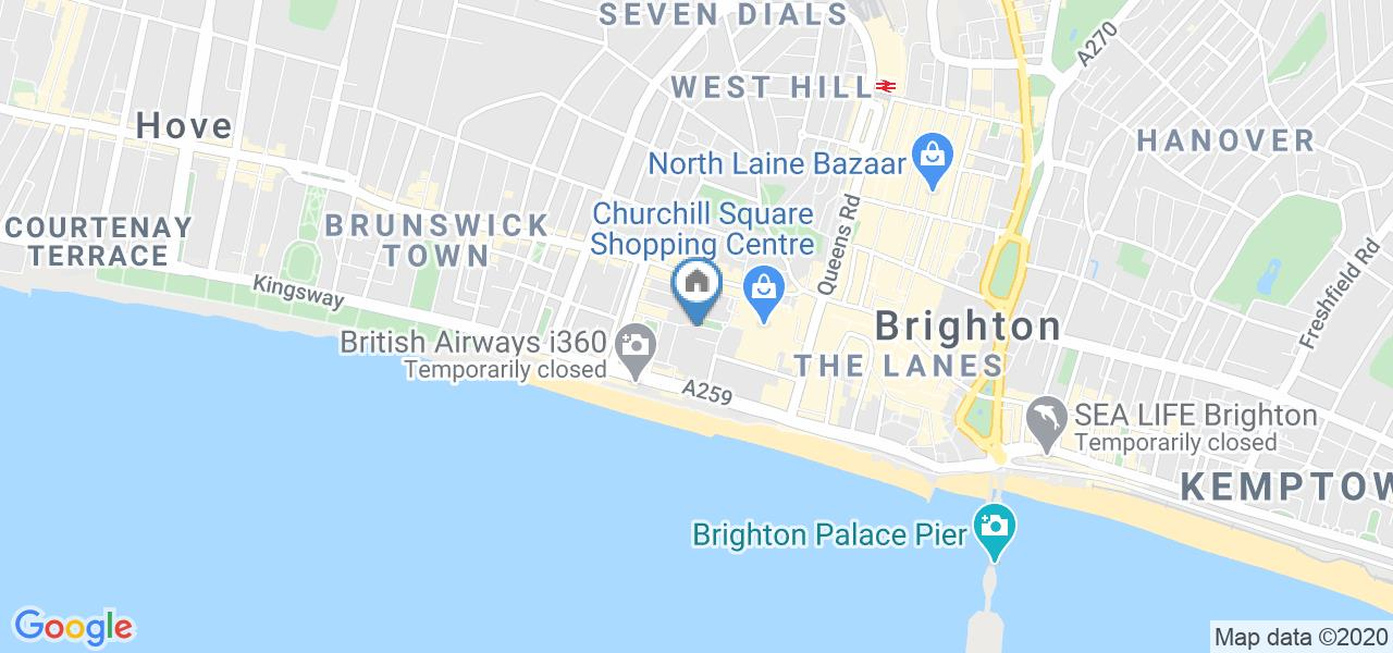 1 Bed Flat, Russell Square, BN1