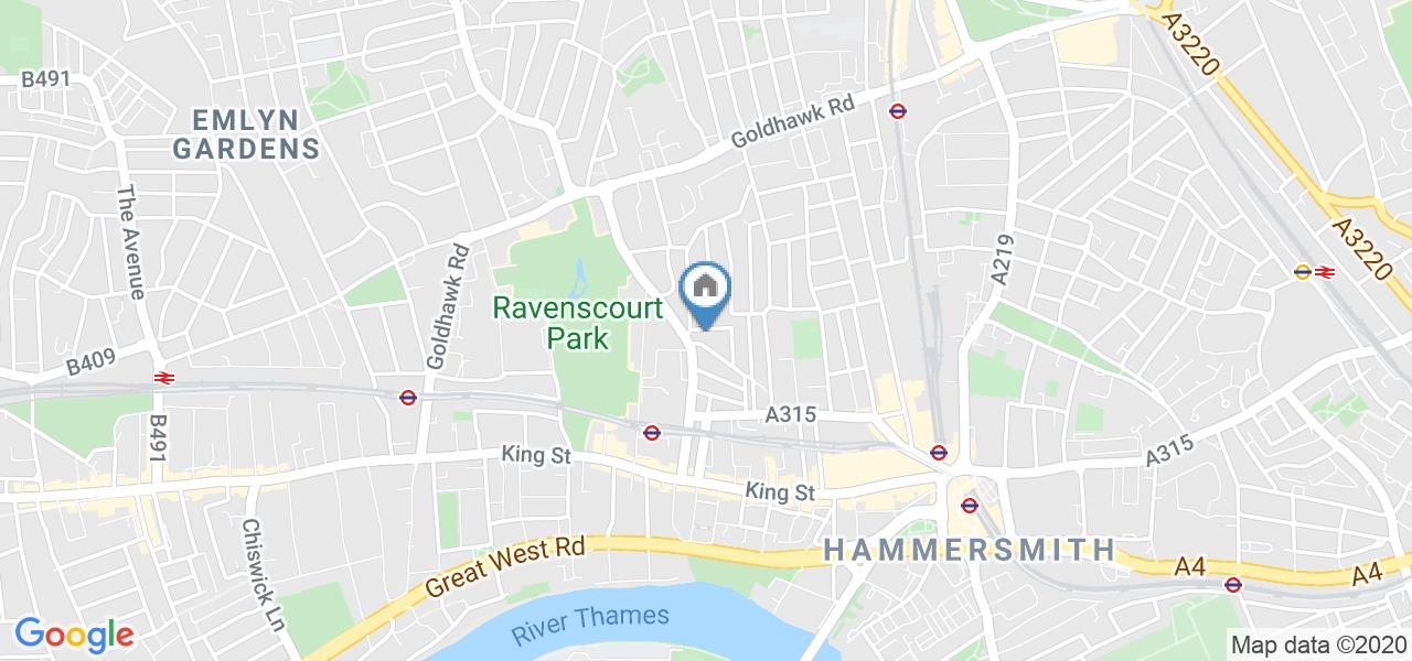 1 Bed Terraced House, Perrers Road, W6