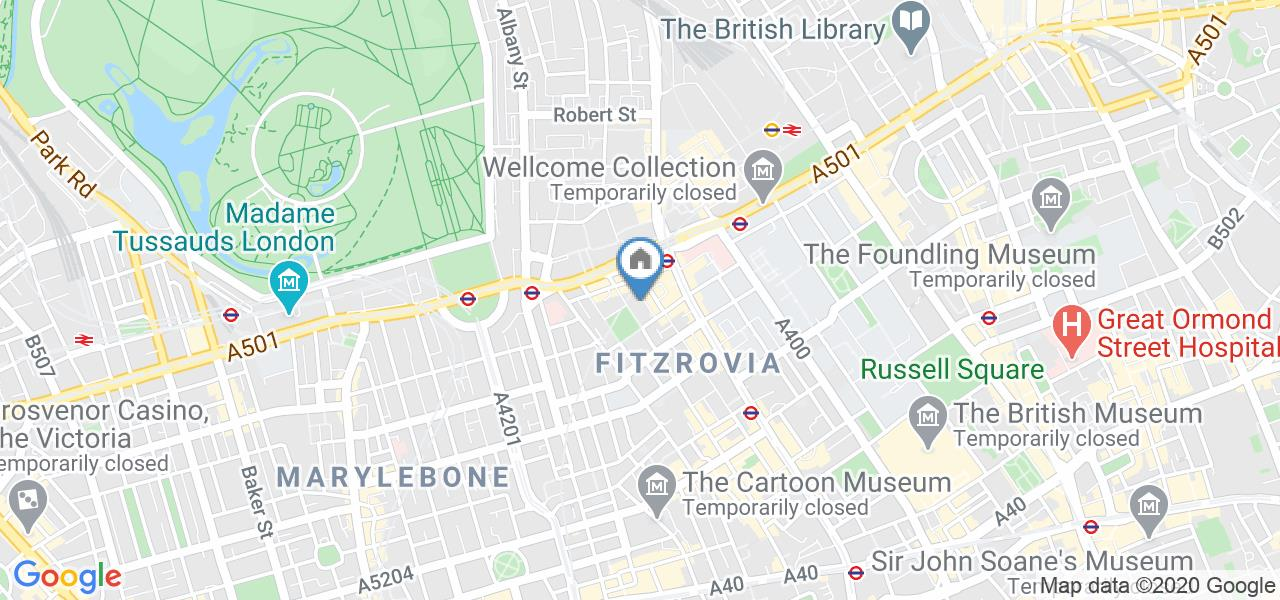 1 Bed Flat, Belview Apartments, W1T