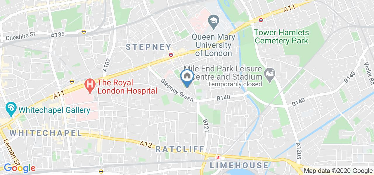 Room in a Shared House, Stepney Green, E1